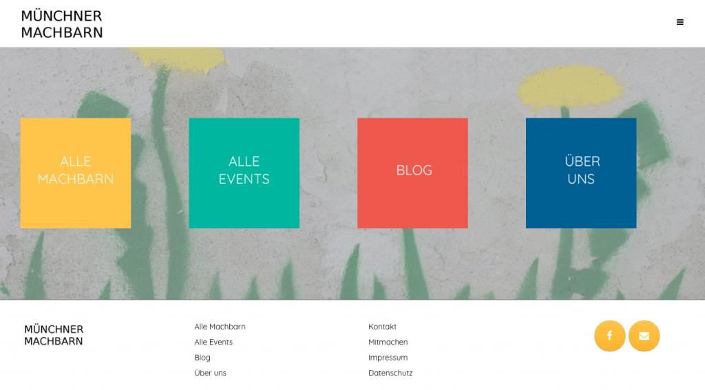 Neue Webseite der MünchnerMachbarn